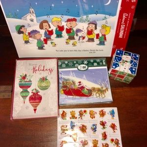 Bundle of holiday stationary